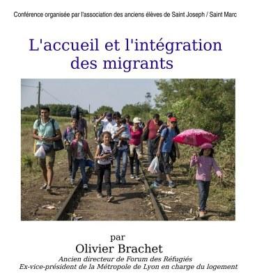 Conférence : l'accueil et l'intégration des migrants