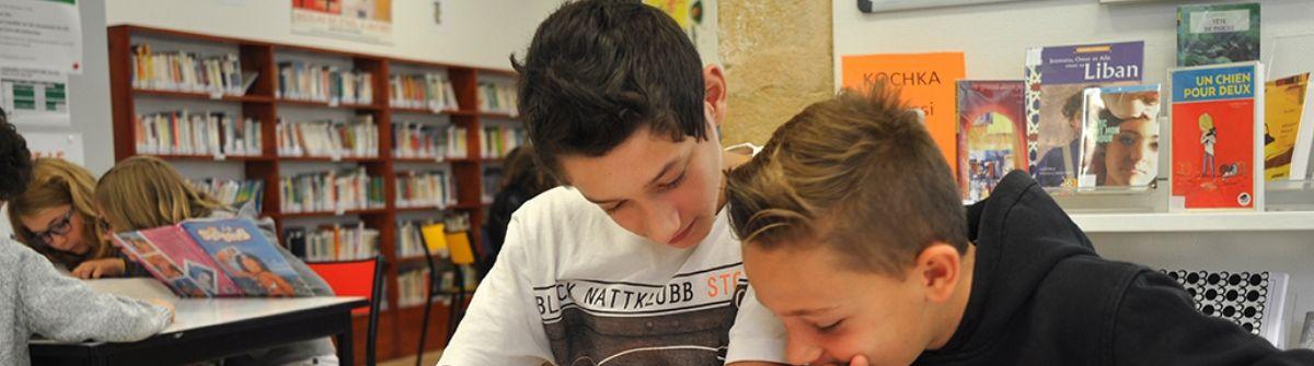 College St Marc eleves au CDI 3 bandeau.jpg