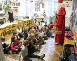 Les enfants et Saint Nicolas